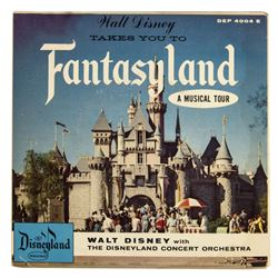"""Walt Disney Takes You to Fantasyland"" Record."