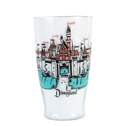 Large Sleeping Beauty Castle Drinking Glass.