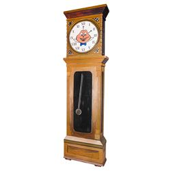 """Mr. Toad's Wild Ride"" Grandfather Clock Prop."