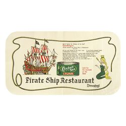 """Pirate Ship Restaurant"" Recipe Placemat."