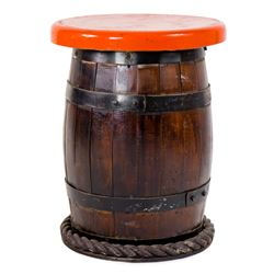 """Chicken of the Sea Pirate Ship Restaurant"" Barrel Seat."