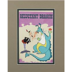 """Mickey Mouse Club Circus"" Reluctant Dragon Poster Art."
