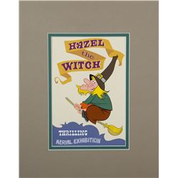 """Mickey Mouse Club Circus"" Witch Hazel Poster Art."