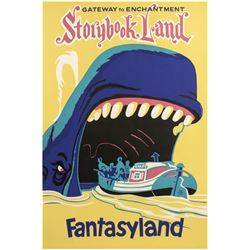 """Storybook Land Canal Boats"" Attraction Poster."
