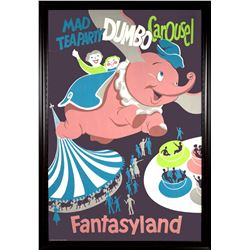 """Fantasyland"" Attraction Poster."
