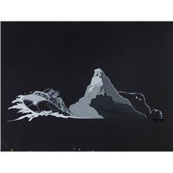 "Original ""Matterhorn Bobsleds""  Promotional Painting."