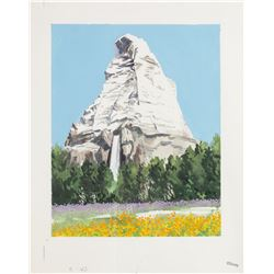 "Original ""Matterhorn"" Promotional Painting."