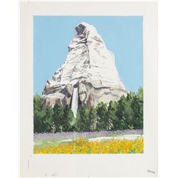 "Original ""Matterhorn"" Promotional Painting."