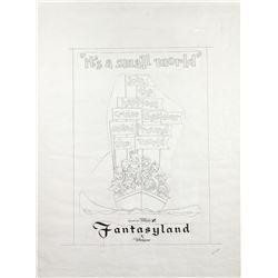 """It's a Small World"" Original Poster Artwork."