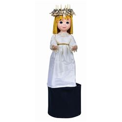 """""""It's a Small World"""" Animated Doll."""