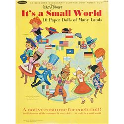 """It's a Small World"" Paper Doll Book."