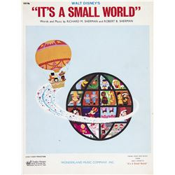 """It's a Small World"" Sheet Music."