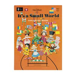 """It's a Small World"" Coloring Book."
