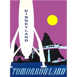 "Tomorrowland ""Near-Attraction"" Poster."