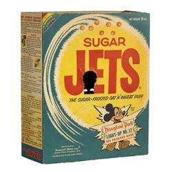Sugar Jets Cereal Light-Up Tomorrowland Box.