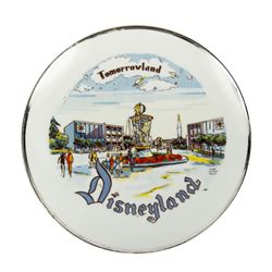 Tomorrowland Plate.