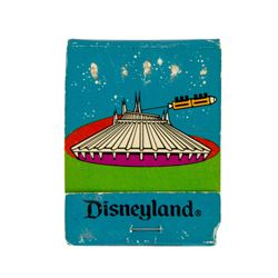 Tomorrowland Matchbook.