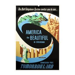 """America the Beautiful in Circarama"" Attraction Poster."