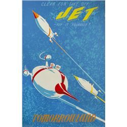 """Jet"" Attraction Poster."