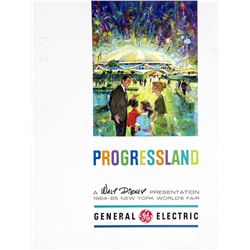 "General Electric's VIP Brochure for ""Progressland""."