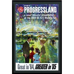"""Progressland"" World's Fair Poster."