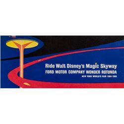 "Walt Disney's ""Magic Skyway"" World's Fair Flyer."