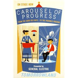 "Original ""Carousel of Progress"" Attraction Poster."