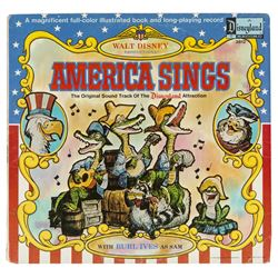 """America Sings"" Book and Record."