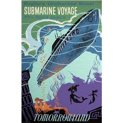 "Original ""Submarine Voyage"" Attraction Poster."