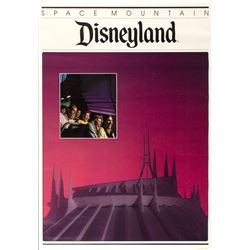 """Space Mountain"" Travel Poster."