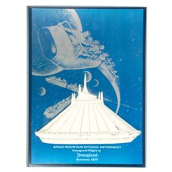 "Space Mountain ""Inaugural Flight"" VIP Gift."