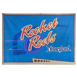 """Rocket Rods"" Display Banner."