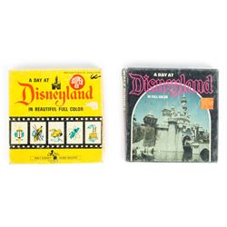 Set of Four 8mm and Super 8 Disneyland & Disney World Films.
