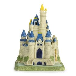 """Cinderella Castle"" Hinged Resin Box with Figure."