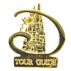 Disneyland Paris Tour Guide Pin.