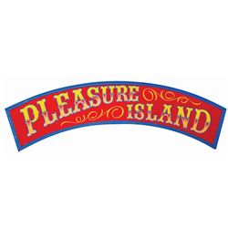 """Pleasure Island"" Sign."