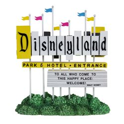 Disneyland Entrance Sign Light-Up Replica.
