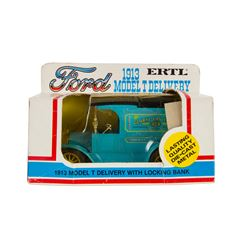 Global Van Lines Delivery Truck Die-Cast Model.