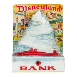 Tomorrowland 1959 Tin-Litho Coin Bank.