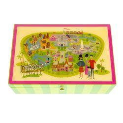Shag Disneyland 50th Anniversary Park Map Box.