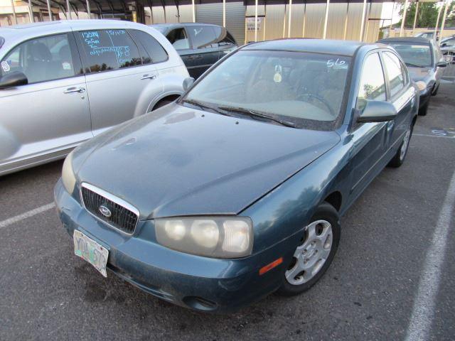 2001 Hyundai Elantra Speeds Auto Auctions