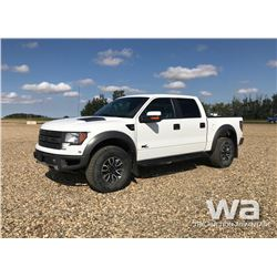 2012 FORD F150 RAPTOR PICKUP