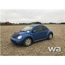 2001 VOLKSWAGON BEETLE CAR