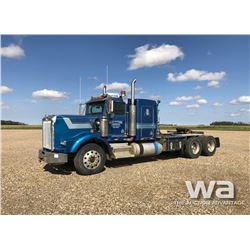 1995 KENWORTH T800 T/A WINCH TRACTOR