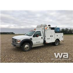 2008 FORD F550 SUPER DUTY SERVICE TRUCK