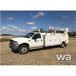 2003 FORD F550 SERVICE TRUCK