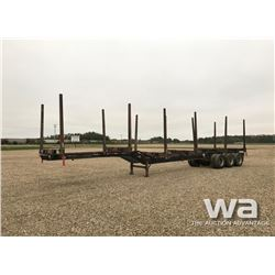 2008 SUPERIOR TRIDEM LOG TRAILER