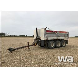 2011 CENTERLINE TRIDEM GRAVEL PUP TRAILER
