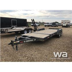 2013 TRAILTECH T/A TILT DECK TRAILER