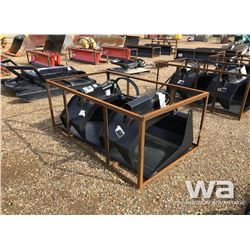 "72"" HEAVY DUTY SKID STEER GRAPPLE BUCKET"